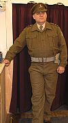costume, hire, period, 1940's, army, home guard, Mainwaring, Goodwood revival, Pickering,