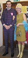 suit, mini, beehive, couple, winklepickers, Goodwood revival ,