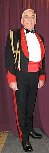 1940's, costume, hire, period, military, army, mess dress, uniform, Goodwood revival, Pickering,