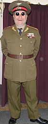 period, costume, hire, 1940's, Army, general, uniform, russian, Goodwood, Pickering,