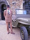 1940's, period, costume, hire, spiv, suit, Goodwood, Pickering,