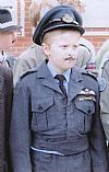 1940's. costume, uniform, period, hire, child, RAF, officer, Goodwood, Pickering,
