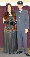 1940's, costume, hire, period, RAF, uniform, evening dress, Goodwood, Pickering,