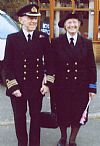 1940's, costume, hire, wartime, Wren, royal navy, officer, uniform, couple, military,  Pickering, goodwood revival, period, Twinwood,