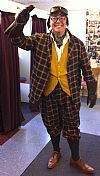 period, costume, hire, fancy dress, 1920's, Toad of Toad Hall,