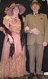 victorian, period, costume, couple,