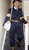 1940's, ARP, warden, civil defence, uniform, costume, period, dads army, Goodwood revival , Pickering,