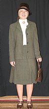 1930's, suit, miss marples, costume, period, hire,