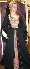 medieval, nobility, period. costume, hire,