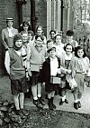 1940's, evacuees, children, wartime, costume, period, group, hire, Goodwood revival , Pickering,
