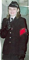 1940's, gestapo, uniform, military, costume, period, hire, Goodwood revival , Pickering,