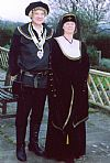 medieval, couple, costume, period, hire,