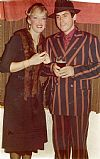 1920's, gangster, moll, costume, period, couple, hire,