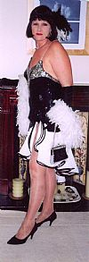 1920's,  moll, flapper, costume, dress, hire,