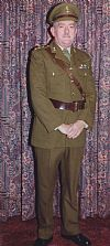 Army, 1940's, Officer,  wartime, uniform, military, Goodwood revival , Pickering, period, costume, hire,
