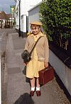 1940's, evacuee, child, girl, period, costume, hire, Goodwood revival, Pickering,