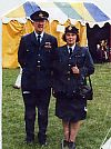 uniform, 1940's, raf, waaf, couple, period, costume, military, hire, Goodwood revival, Pickering,