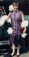 1920's, flapper, period, costume, dress,