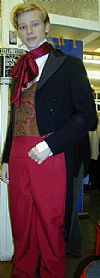 victorian, period, costume, gentleman, hire,