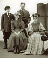 victorian, family, group, costume, period, hire,
