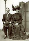 victorian, period. couple, costume, hire,