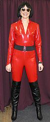 catsuit, latex, hire,