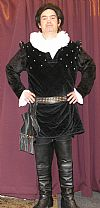 Black  Adder, elizabethan, period, costume, television, hire,