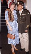 1940, us, yank, couple, uniform, dress,military, officer, Goodwood revival , Pickering, period, costume, hire,