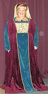 costume, medieval, hire, period, nobility,