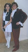 1970's, 1960's, period costume, hire, austin powers, mary quant,