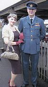 RAF,  costume, hire, period, uniform, military, 1940's, Goodwood Revival, Pickering,