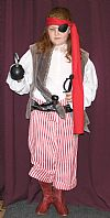 pirate, costume, hire, children,  period,