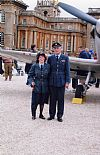 1940's,  RAF, WAAF, couple, hire, costume, period, group, wartime, Goodwood Revival, Pickering,