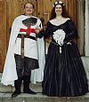 Chain mail armour, knight, soldier, medieval bride