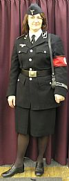 Gestapo, uniform, 1940's. costume, period, hire, german, wartime, Goodwood Revival, Pickering,
