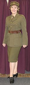 1940's, ATS, uniform, costume hire, period, wartime, hire, Goodwood Revival, Pickering,