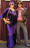 1970's, hire, period, costume, trouser suit, trendy,