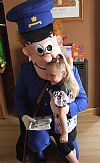 hire, period, funstuff, costume, postman pat, cartoon,