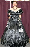 dress, victorian, crinoline, hire, costume, period,
