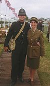 hire, period, 1940's, costume, army, policeman, ATS, wartime, Goodwood revival , Pickering,