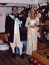 regency, naval, dress, hire, costume, period, couple,