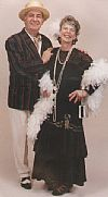 1920's, boater, flapper, blazer, evening dress,