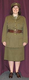 ATS, period, costume, hire, uniform, 1940's, wartime, army, Goodwood revival, Pickering,